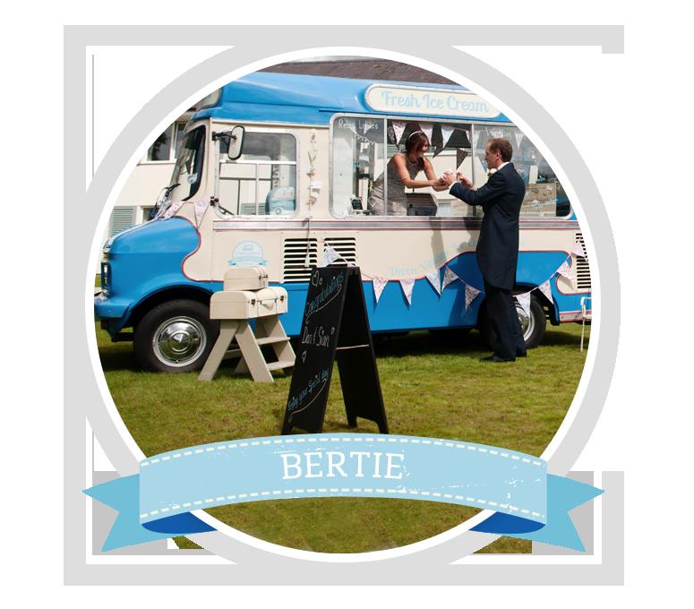 Book Bertie the Vintage Ice Cream Van
