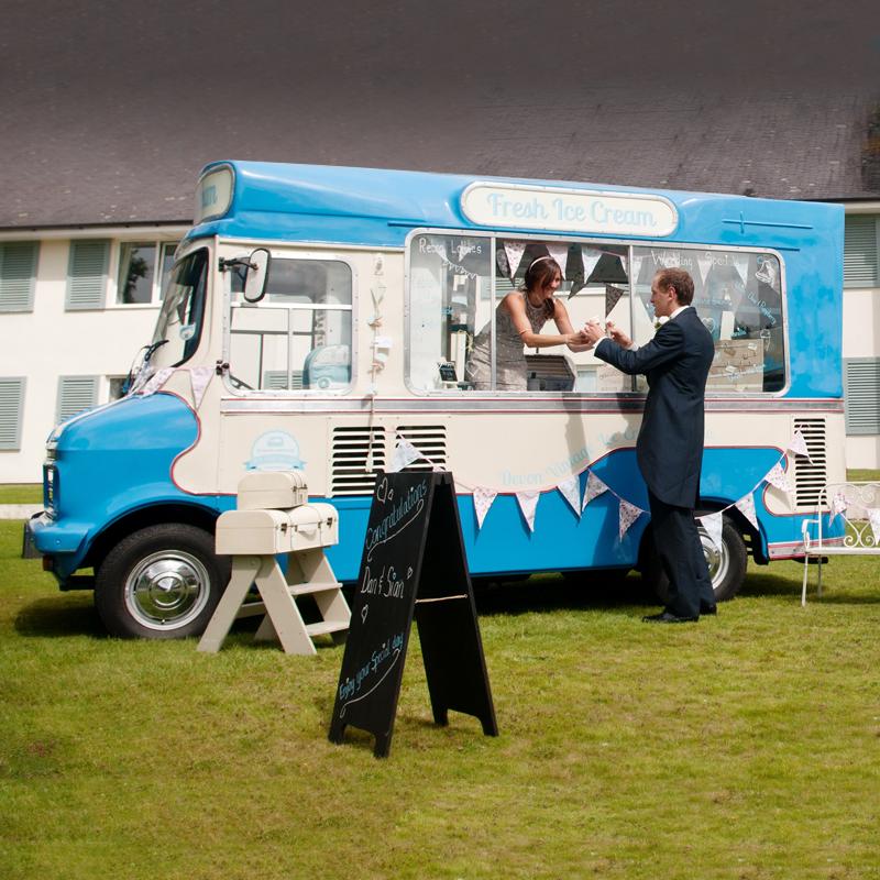 Hire Bertie The Vintage Ice Cream Van