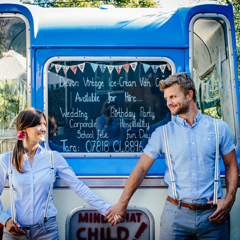Hire Bertie The Vintage Ice Cream Van